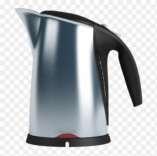 Modern teapot electric PNG