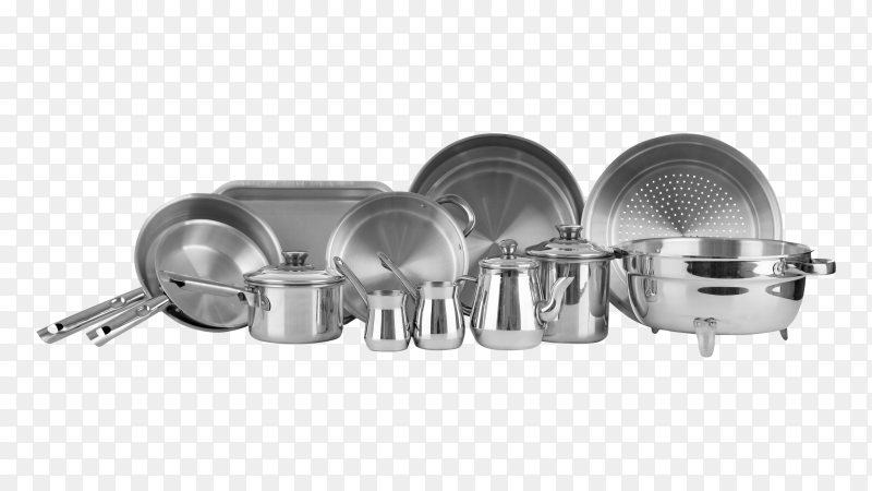 New kitchenware utensils set transparent PNG