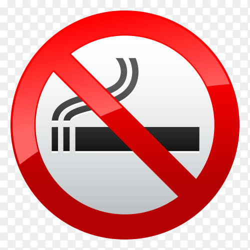No smoking clipart PNG