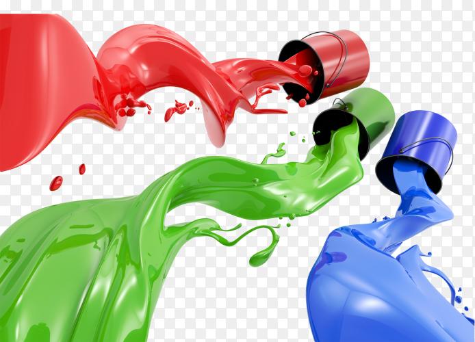 Paint Splash Can PNG