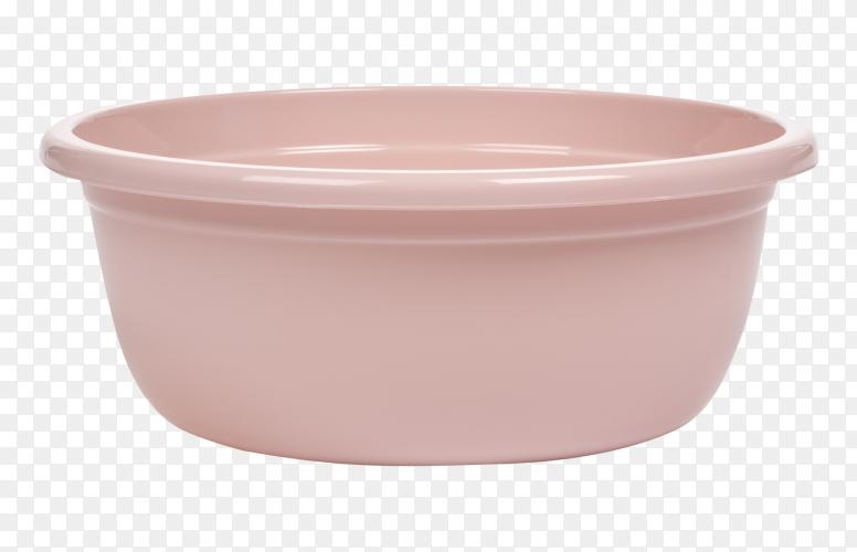 Plastic empty basin PNG