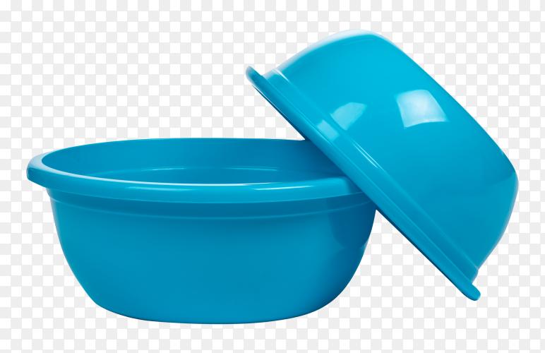 Plastic empty basin transparent PNG