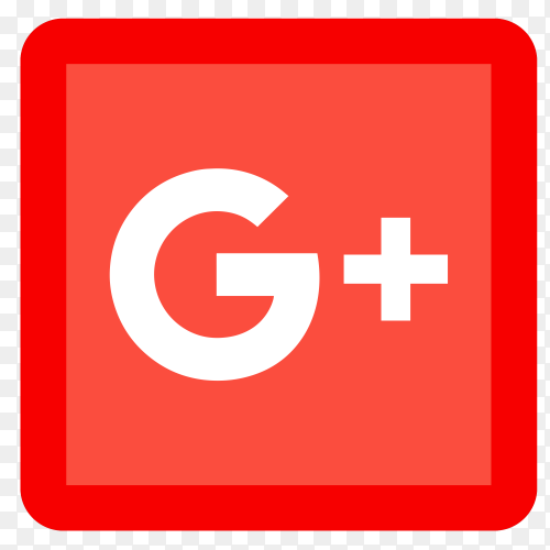 Popular social media GooglePlus icon PNG