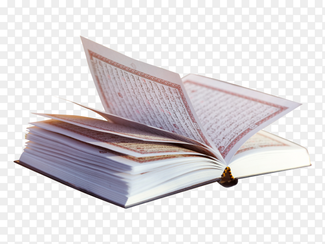 Quran – holy book of Islam PNG