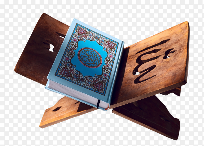 Quran – holy book of Islam transparent PNG