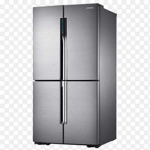 Samsung refrigerator four doors PNG