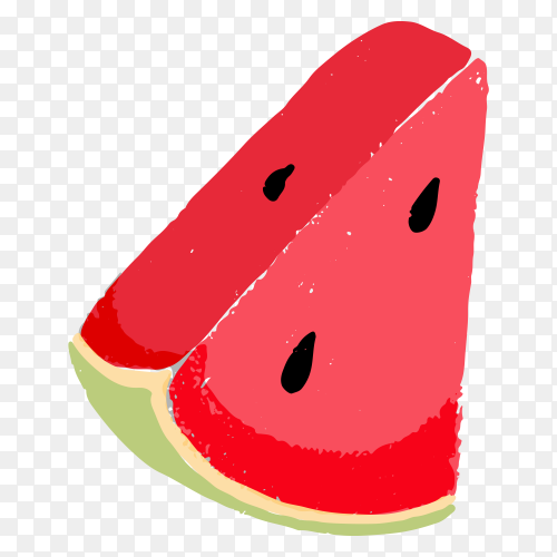 Slice watermelon Free download PNG