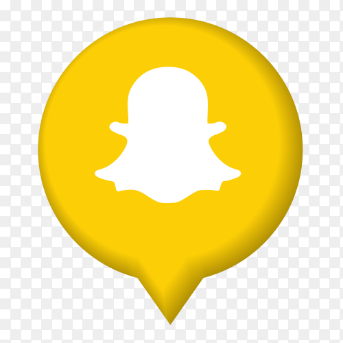 Snapchat icon illustrator form poi PNG