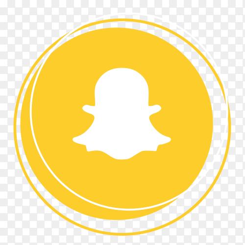 Snapchat logo social networking platform PNG