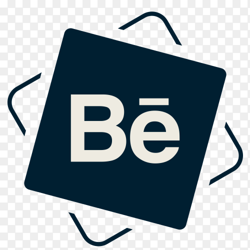 Social media Behance icon PNG