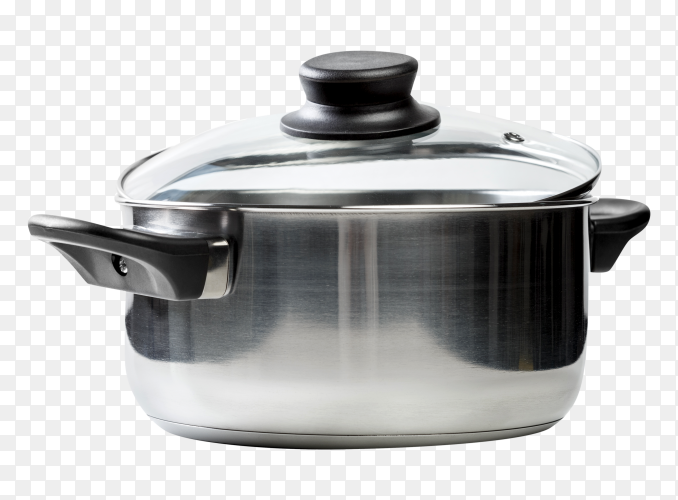 Steel saucepan Photo PNG