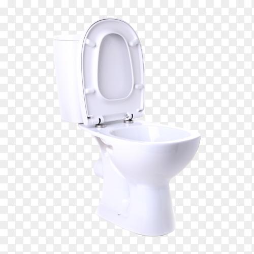 Toilet bowl transparent PNG