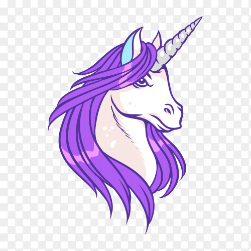 Unicorn lord Vector PNG
