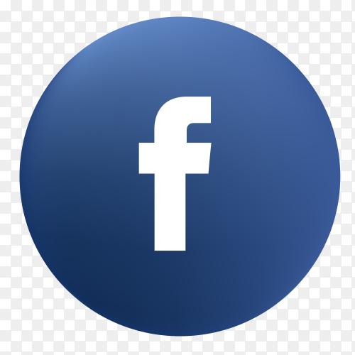 Vector Facebook icon PNG