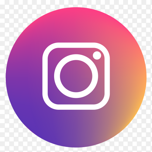 Vector Instagram icon PNG