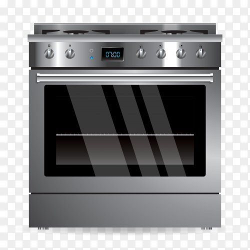 Vector gas oven – stove PNG