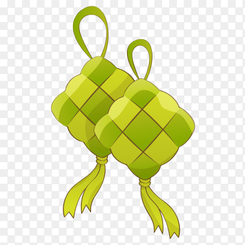 Vector ketupat free download PNG