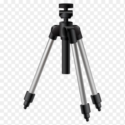 Vector small tripod PNG