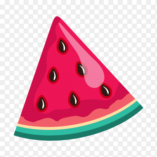 Vector watermelon Free download PNG