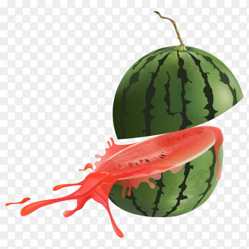 Watermelon clipart PNG