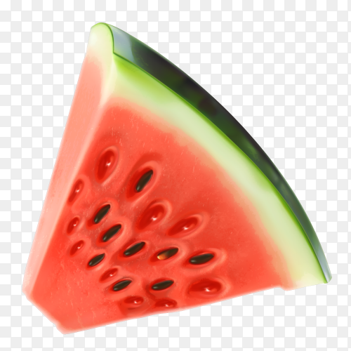Watermelon vector illustration Free download PNG