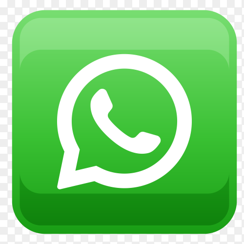 WhatsApp logo in square shape PNG