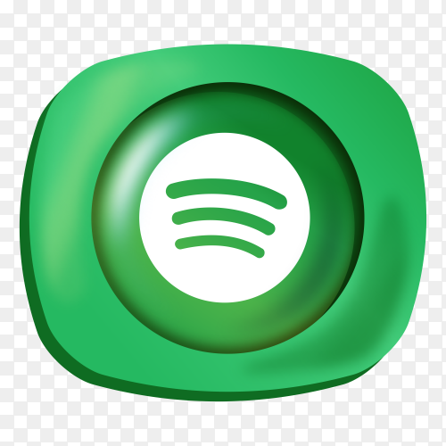 Logo Spotify gradient social media icon PNG