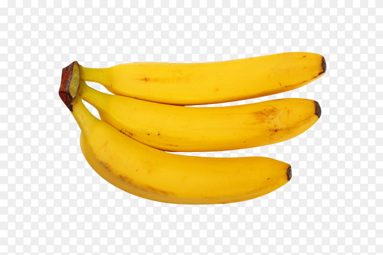A bunch of bananas transparent PNG
