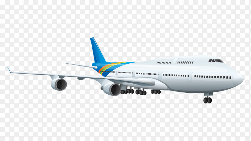 Airplane vector download free PNG