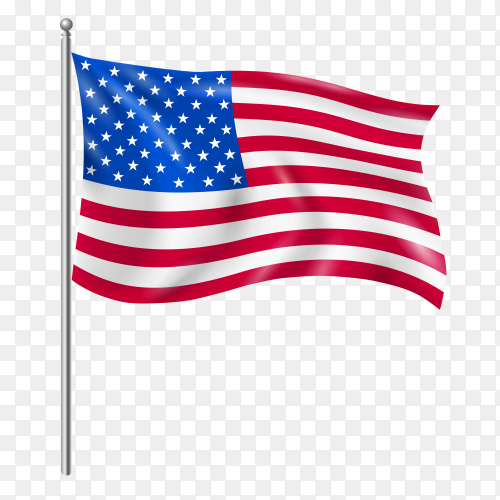 American flag premium – united states flag royalty free PNG