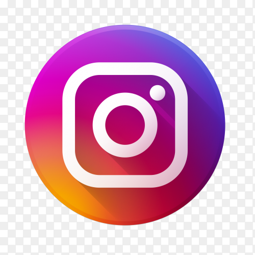 Beautiful Instagram logo transparent PNG
