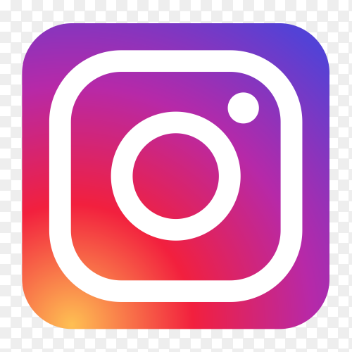 Beautiful design Instagram logo transparent PNG