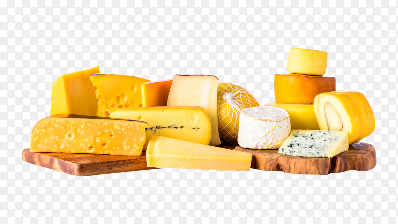 Cheese on transparent background PNG
