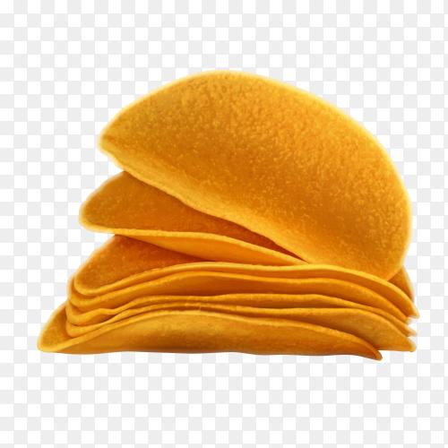 Crunchy chips transparent PNG