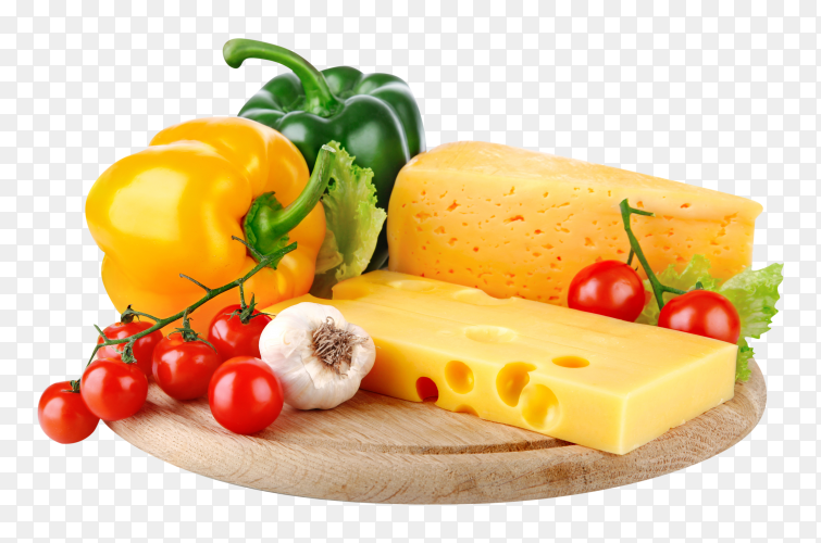 Delicious cheese on transparent background PNG