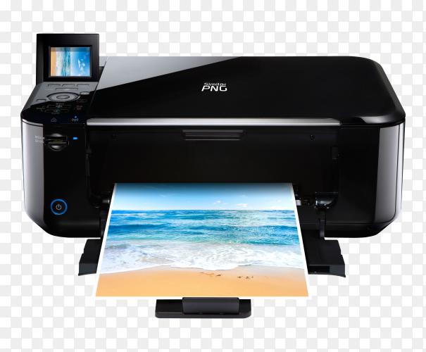 Epson InkJet printer transparent PNG