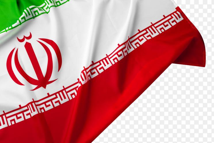 Flag of iran royalty free PNG