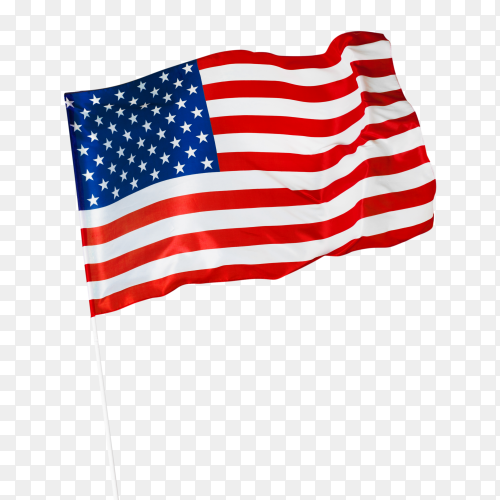 Flag of united states of america free PNG