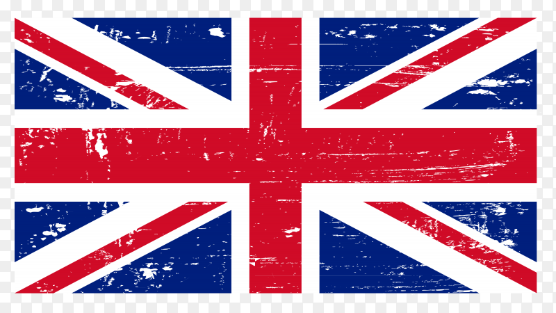 Flag united kingdom vector PNG