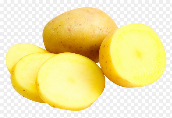 Fresh organic potatoes free download PNG