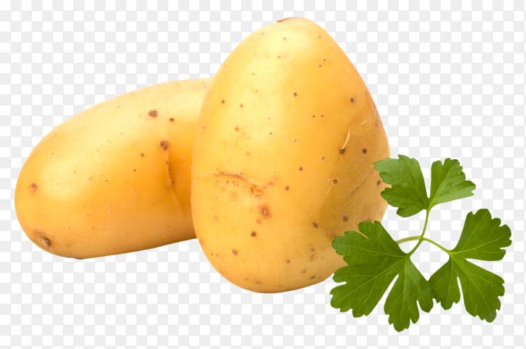 Fresh potatoes premium image PNG