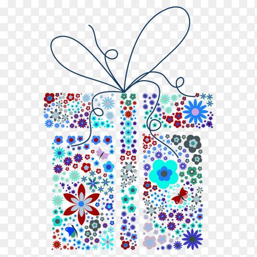 Gift box – vector PNG