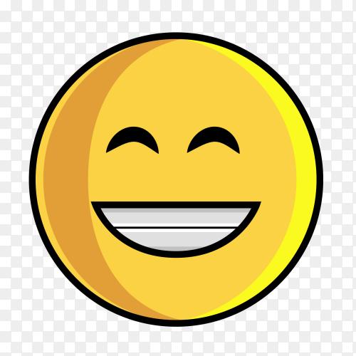 Happy Emoji clipart PNG