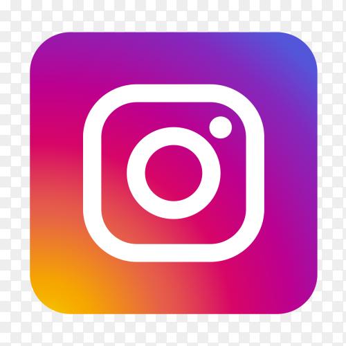 Instagram logo clipart PNG