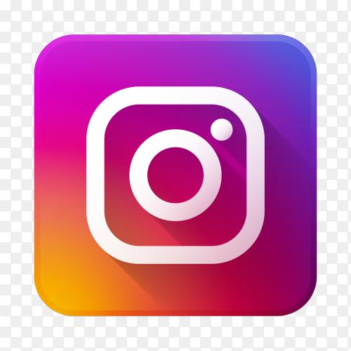 Instagram logo premium vector PNG