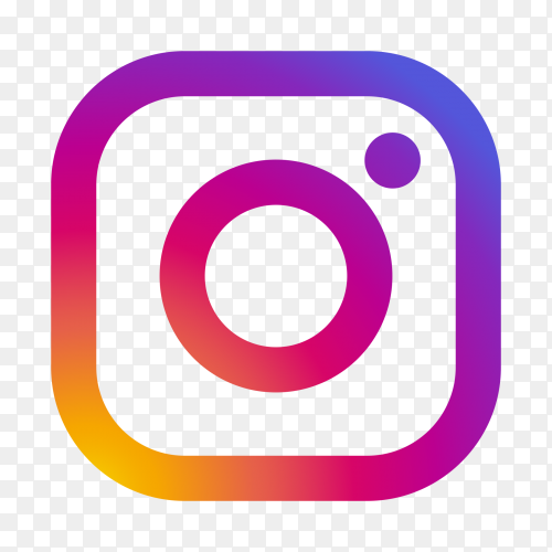 Instagram logo transparent PNG