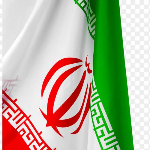 Iran flag – image free PNG