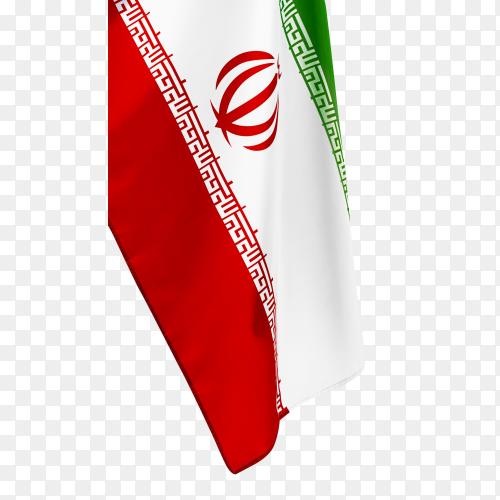 Iran glag transparent PNG