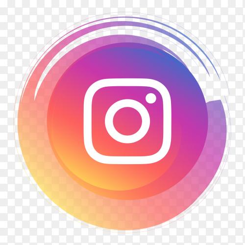 Logo Instagram premium clipart PNG