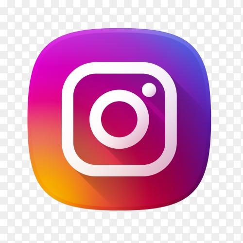 Logo Instagram premium vector PNG